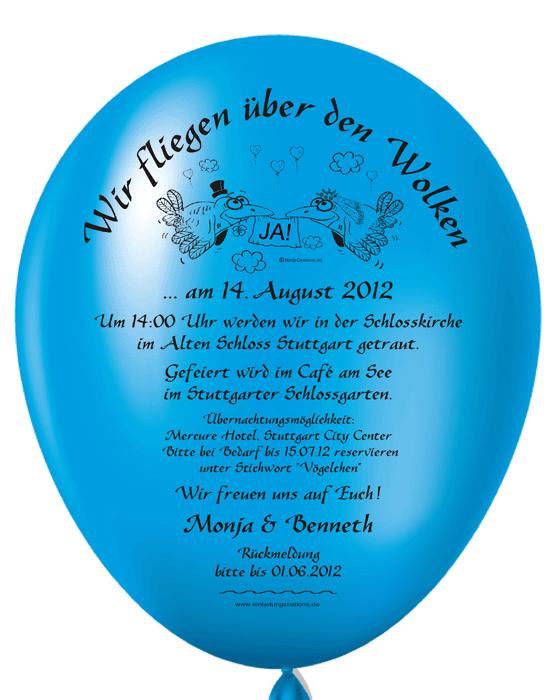 Einladungskarten Selbst Gestalten So Einfach Geht S: Individuelle Und Originelle Einladungen Mit Einladungsballons